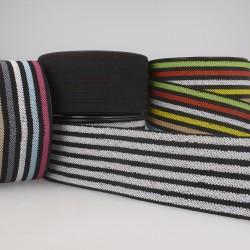 Elastique ceinture stripe