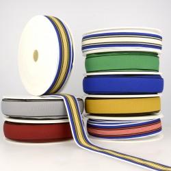 Ruban stretch multicolore