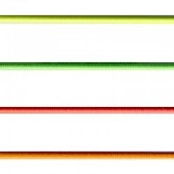 Elastique rond fluo