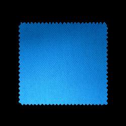 Tissu Double Natte Non Feu Bleu