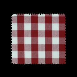 Tissu Cuistot Vichy Rouge
