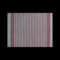 Tissu Pour Torchon Natura Lin Rouge