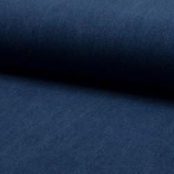 Tissu Jeans Coton Bleu