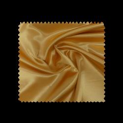 Tissu Satin Uni Moutarde