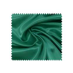 Tissu Satin Uni Vert Vif