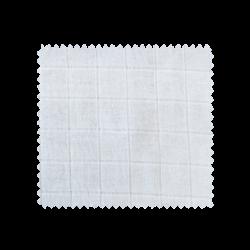 Tissu Bébé Lange Blanc Bio
