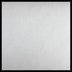 Tissu Romance 5.5 Toile à Broder Blanc