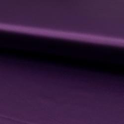 Tissu Satin Stretch Violet