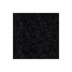 Tissu Fausse Fourrure Noir