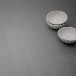 Tissu Toile Cirée Polyline Ambar Argent