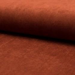 Tissu Veloutine Uni Cuivre