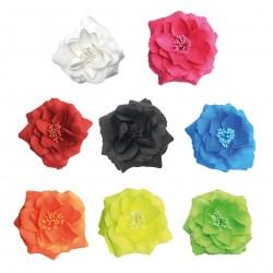 Fleur fluo/broche