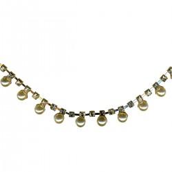 Galon perles et strass