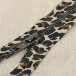 Fermeture léopard non séparable