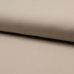 Tissu Jersey Coton Bio Uni Sable