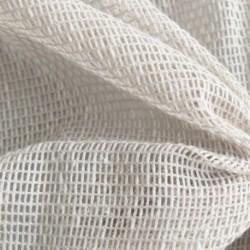 Tissu Origina Filet Uni Blanc