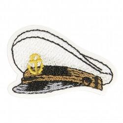 Ecusson chapeau marin - Capitaine