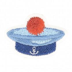 Ecusson chapeau marin - Marin