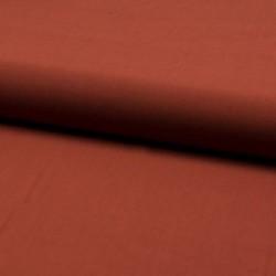 Tissu Viscose Uni Terracotta