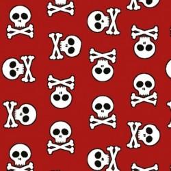 Tissu Albator Imprimé Rouge