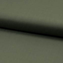 Tissu Voile de Coton Toucher Soie Army
