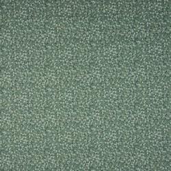 Tissu Jersey Coton Imprimé Pois Fond Menthe